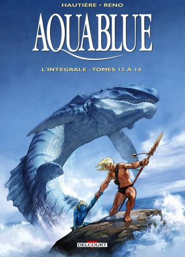 Couverture de l'album AQUABLUE Tome #Int.5 L'integrale - Tomes 12 à 14