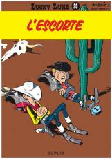 Couverture de l'album LUCKY LUKE Tome #28 L'escorte