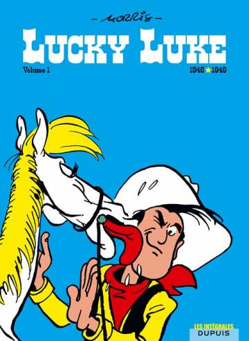 Couverture de l'album LUCKY LUKE - L'INTEGRALE Tome #1 1946 - 1949