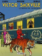 Couverture de l'album VICTOR SACKVILLE Tome #21 Le disparu du train bleu