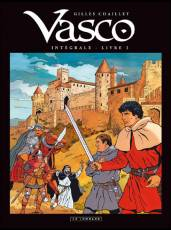 Couverture de l'album VASCO (INTEGRALE) Tome #3 Livre 3