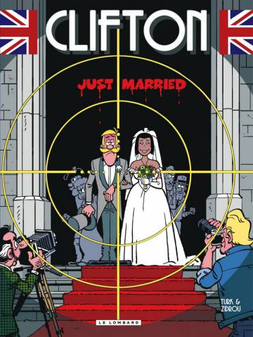 Couverture de l'album CLIFTON Tome #23 Just Married