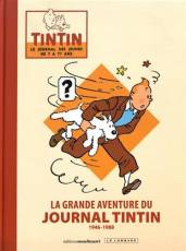 Couverture de l'album GRANDE AVENTURE DU JOURNAL TINTIN (LA) 1946 - 1988