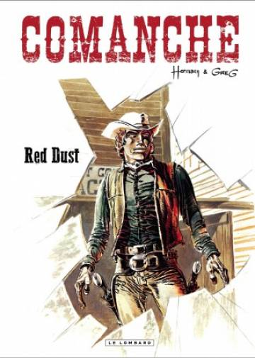 Couverture de l'album COMANCHE (NOUVELLE EDITION) Tome #1 Red Dust