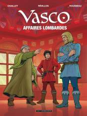 Couverture de l'album VASCO Tome #29 Affaires Lombardes