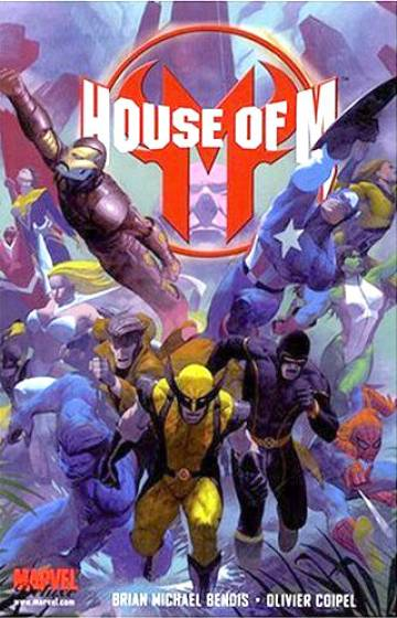 Couverture de l'album HOUSE OF M House of M