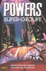 Couverture de l'album POWERS Tome #4 Super-groupe