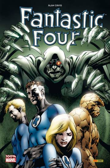 Couverture de l'album FANTASTIC FOUR: LA FIN Fantastic Four: la fin