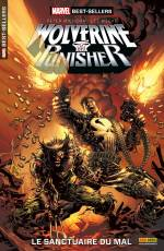 Couverture de l'album MARVEL BEST-SELLERS Tome #1 Wolverine/Punisher : Le sanctuaire du mal