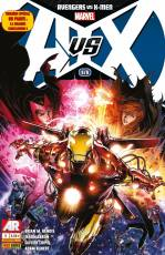 Couverture de l'album AVENGERS VS X-MEN Tome #6 Avengers vs X-Men  6/6