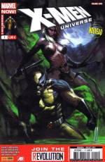 Couverture de l'album X-MEN UNIVERSE (V.4) Tome #1 Sauvage