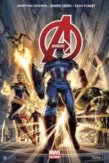 Couverture de l'album AVENGERS (MARVEL NOW) VF Tome #1 Tome 1