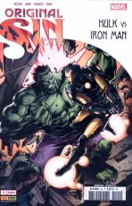 Couverture de l'album ORIGINAL SIN EXTRA Tome #2 Hulk vs Iron Man