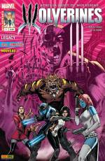 Couverture de l'album WOLVERINES Tome #1 Quatre mots - The Logan Legacy