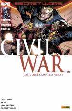 Couverture de l'album SECRET WARS : CIVIL WAR Tome #1 Pourparlers