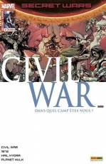 Couverture de l'album SECRET WARS : CIVIL WAR Tome #2/5 Premiers mouvements