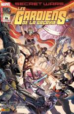 Couverture de l'album SECRET WARS : LES GARDIENS DE LA GALAXIE Tome #4/5 Traitrise