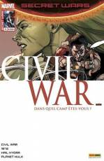 Couverture de l'album SECRET WARS : CIVIL WAR Tome #3 Infiltration