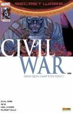 Couverture de l'album SECRET WARS : CIVIL WAR Tome #4/5 Révélation