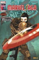 Couverture de l'album V2 MARVEL SAGA Tome #12 The Punisher :  Châtiment final