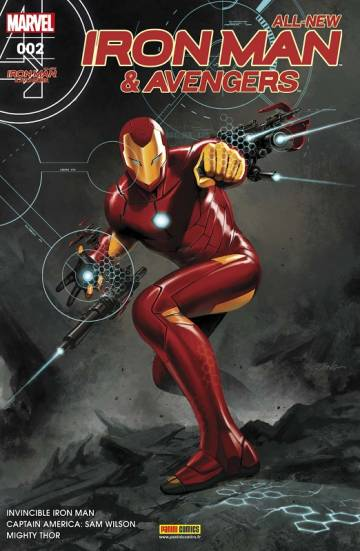 Couverture de l'album ALL NEW IRON MAN & AVENGERS Tome #2 La Guerre des Elfes