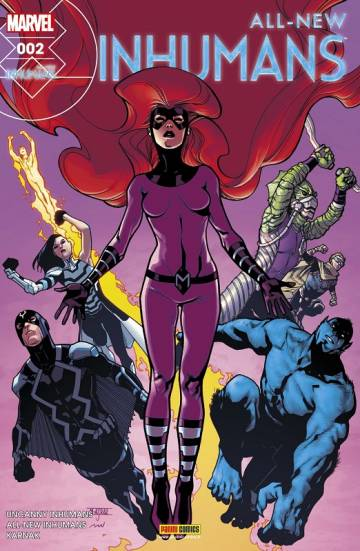 Couverture de l'album ALL-NEW INHUMANS Tome #2 Compression Temporelle