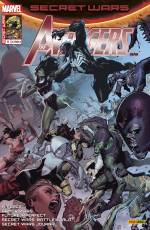 Couverture de l'album SECRET WARS : AVENGERS Tome #5/5 Singularité