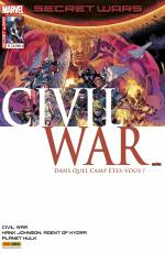 Couverture de l'album SECRET WARS : CIVIL WAR Tome #5/5 Résolution