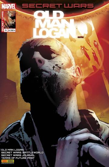 Couverture de l'album SECRET WARS : OLD MAN LOGAN Tome #5/5 Seconde chance