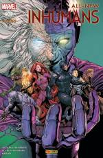 Couverture de l'album ALL-NEW INHUMANS Tome #3 Intervention Globale