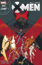 Couverture de l'album ALL-NEW X-MEN Tome #3 Egratignures