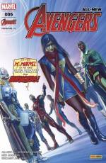 Couverture de l'album ALL-NEW AVENGERS Tome #5 Effrayante symétrie