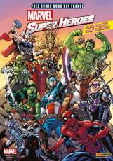 Couverture de l'album FREE COMICS BOOK DAY Marvel super Heros