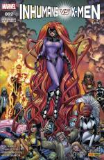Couverture de l'album INHUMANS VS X-MEN Tome #2 Inhumans vs X-Men - 2/4