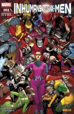 Couverture de l'album INHUMANS VS X-MEN Tome #3 Inhumans vs X-Men - 3/4