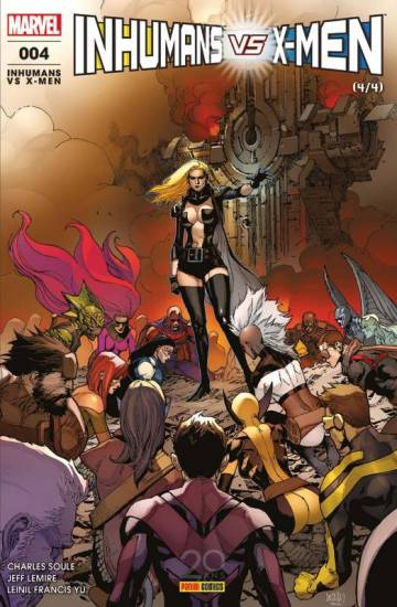 Couverture de l'album INHUMANS VS X-MEN Tome #4 Inhumans vs X-Men - 4/4