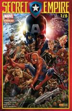 Couverture de l'album SECRET EMPIRE Tome #1/5 Secret Empire