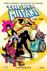 Couverture de l'album THE NEW MUTANTS INTÉGRALE Tome #1 1982 - 1983