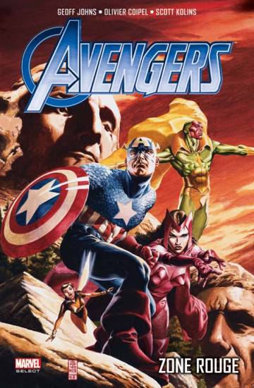 Couverture de l'album AVENGERS  (MARVEL SELECT) Tome #2 Zone Rouge
