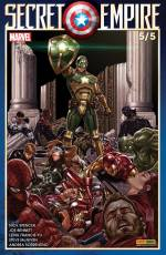 Couverture de l'album SECRET EMPIRE Tome #5/5 Secret Empire 5/5