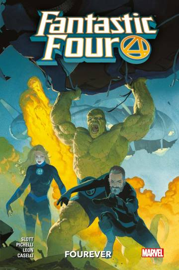 Couverture de l'album FANTASTIC FOUR Tome #1 Fourever