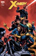 Couverture de l'album X-MEN Tome #11 La Séparation (III)