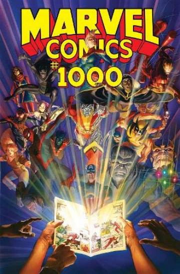 Couverture de l'album MARVEL COMICS 1000 + 1001 MARVEL COMICS 1000 + 1001