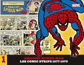 Couverture de l'album AMAZING SPIDER-MAN : LES COMICS STRIPS Tome #1 Les comic strips 1977-1979