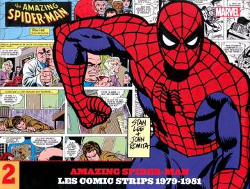 Couverture de l'album AMAZING SPIDER-MAN : LES COMICS STRIPS Tome #2 1979 - 1981