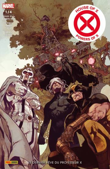 Couverture de l'album HOUSE OF X / POWER OF X Tome #EV.1 Le dernier rêve du professeur X - édition variante