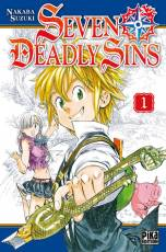 Couverture de l'album SEVEN DEADLY SINS Tome #1 Volume 1