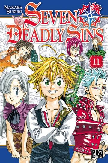 Couverture de l'album SEVEN DEADLY SINS Tome #11 Volume 11