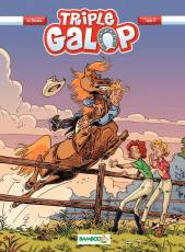 Couverture de l'album TRIPLE GALOP Tome #8 Tome 8