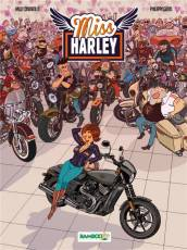 Couverture de l'album MISS HARLEY Tome #1 Miss Harley tome 1